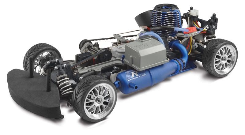 RC Auto: Traxxas Nitro 4-Tec 3.3