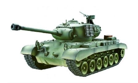 RC Tank: Torro M26 Pershing Snow Leopard (1:16 / IR)
